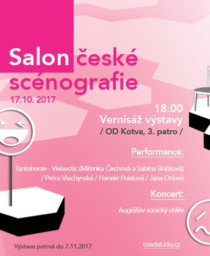 Salon české scénografie 2017 již po šesté