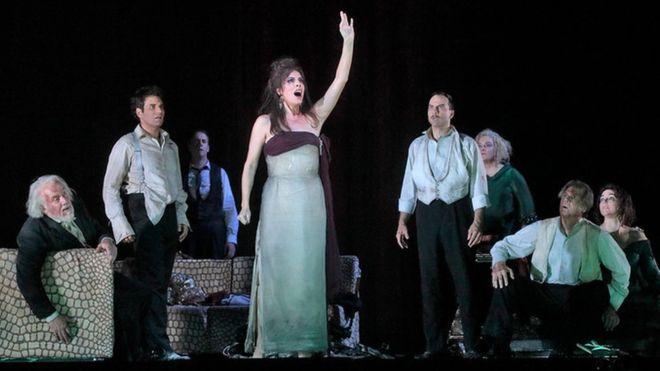 Sopranistka zazpívala nejvyšší tón v historii Metropolitní opery v New Yorku