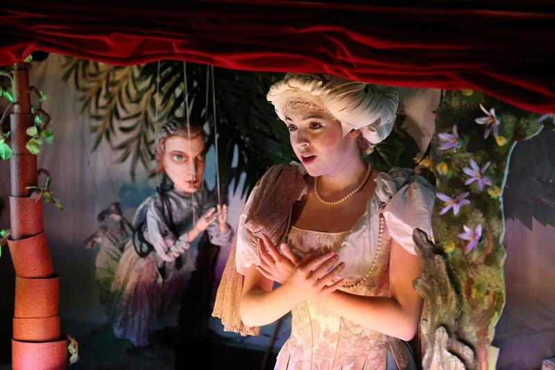 Acise a Galateu v Händelově opeře ztvární operní pěvci i loutky