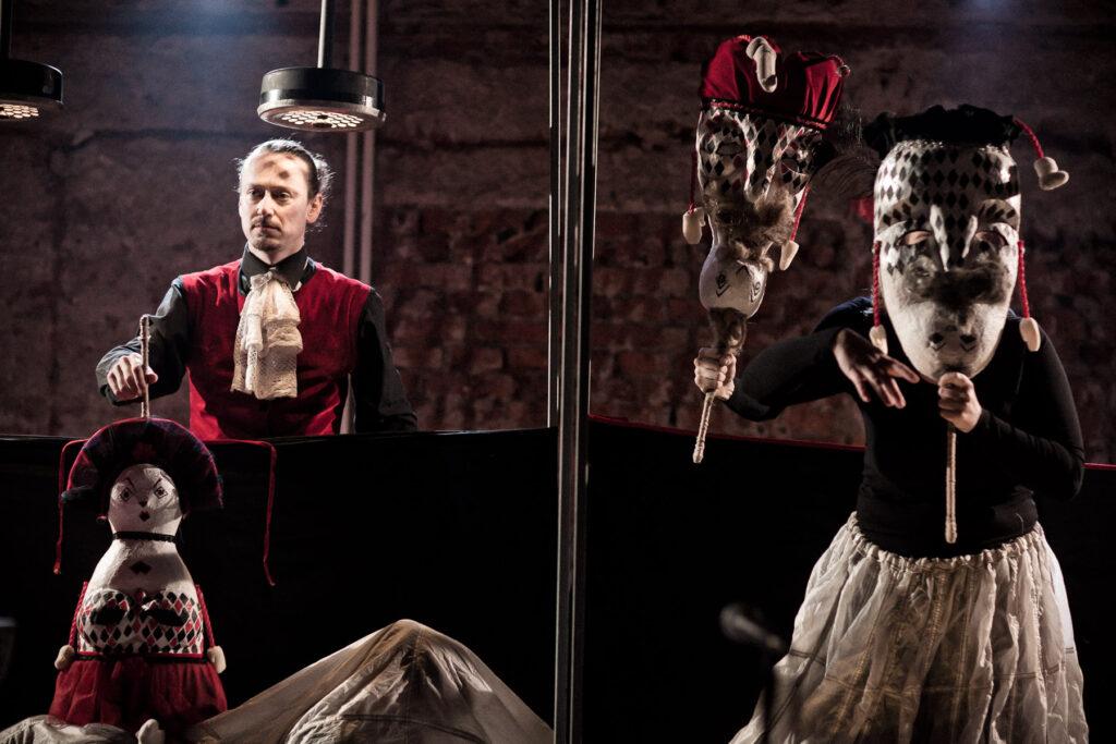 Pozvánka na sympozium Současné barokní divadlo, které se bude konat v rámci Festivalu Andreini ve VILE Štvanice