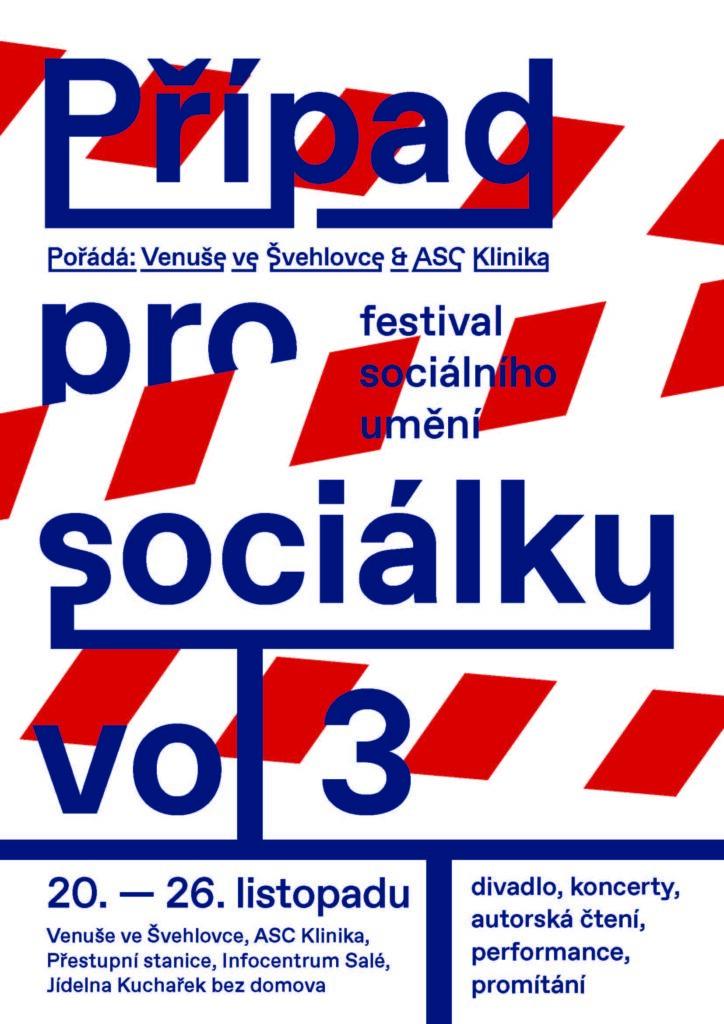 Festival sociálního umění Případ pro sociálku proběhne letos již potřetí