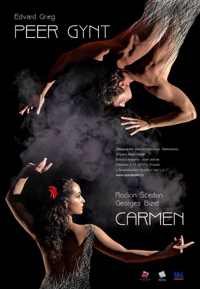 Severočeské divadlo opery a baletu uvede balet Peer Gynt a Carmen