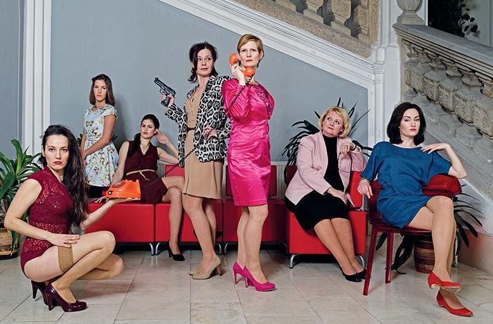 Chebské Ženy na pokraji hostují v Praze