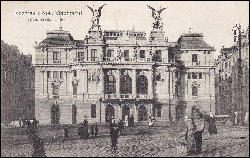 Vinohradské divadlo oslaví koncem týdne 110. výročí své existence