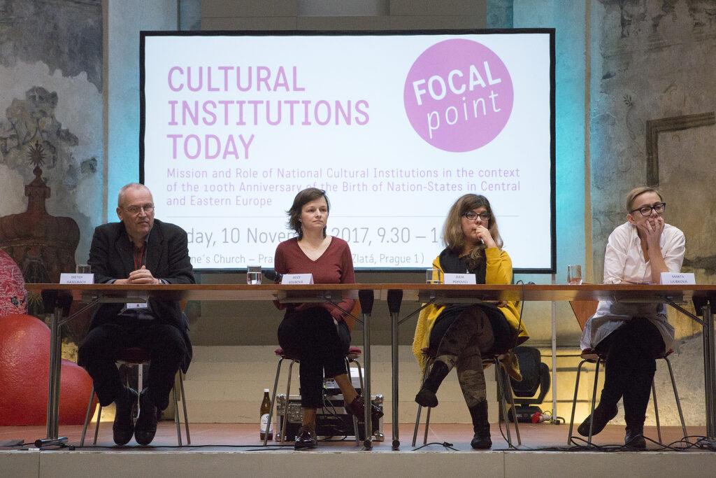 16. výroční zasedání autorů Kompendií kulturních politik a trendů vEvropě a Otevřené fórum Kulturní instituce dnes vPraze