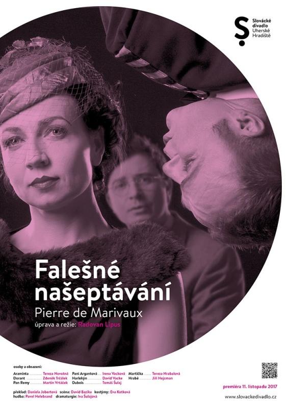 Slovácké divadlo uvede premiéru komedie Falešné našeptávání