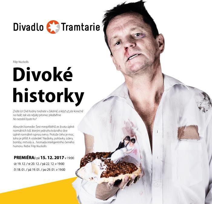 Divadlo Tramtarie uvede v premiéře černou komedii Divoké historky