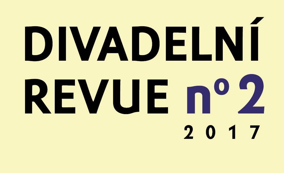 Vychází Divadelní revue 2/2017