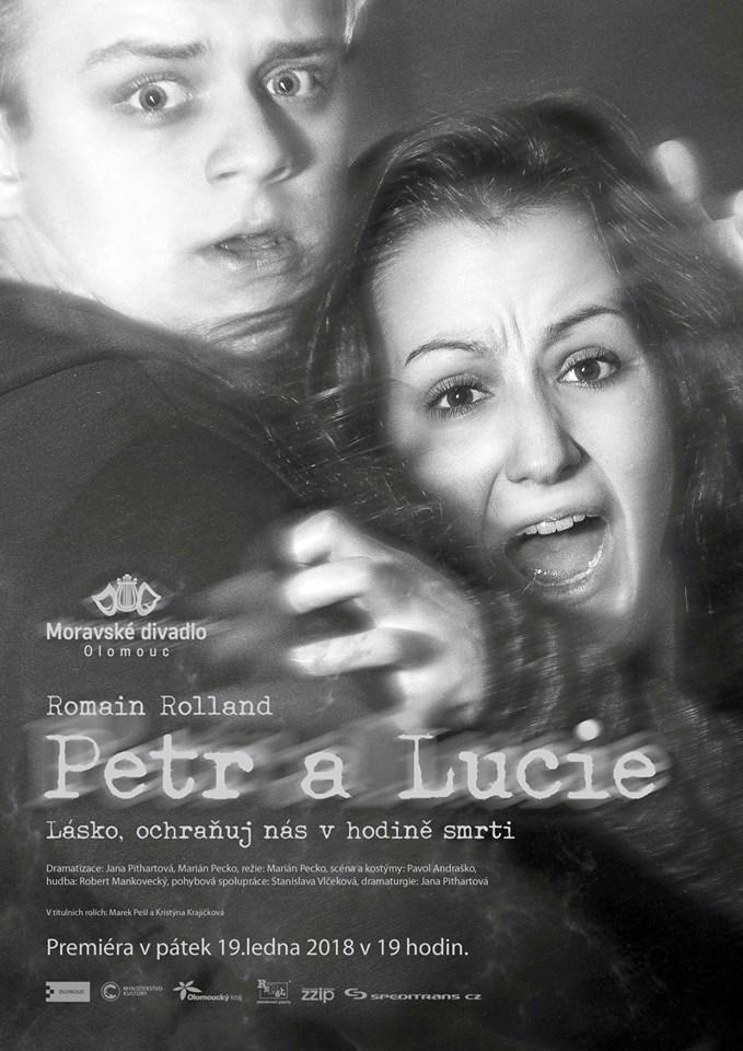 Činohra Moravského divadla vstupuje do nového roku s adaptací Rollandovy novely Petr a Lucie
