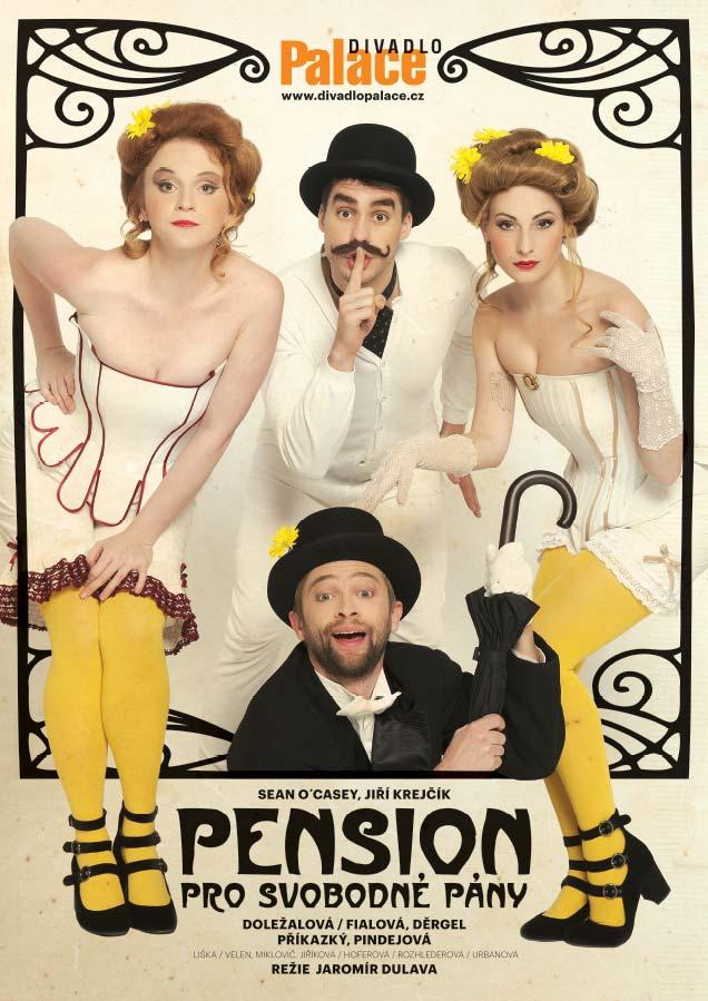 DivadloPalace připravuje inscenaci Pension pro svobodné pány