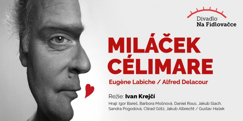 Igor Bareš se poprvé představí v Divadle na Fidlovačce