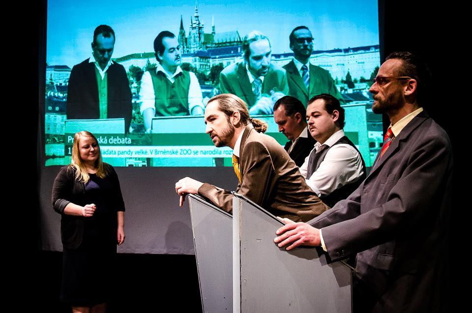 Divadelní volbu prezidenta v Polárce vyhrál při premiéře Masaryk
