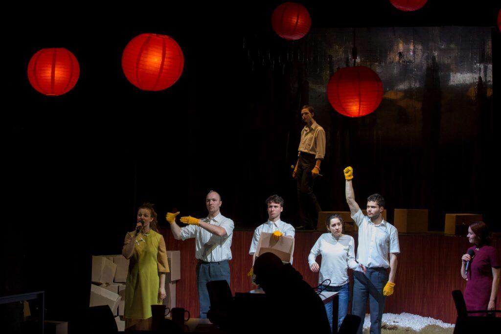 Studenti JAMU zvou na divadelní hostinu do Zlatého draka
