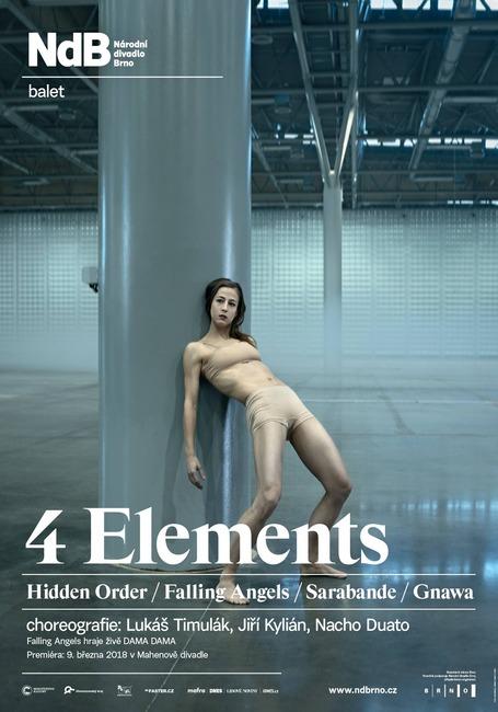 Národní divadlo Brno připravuje baletní večer 4 Elements
