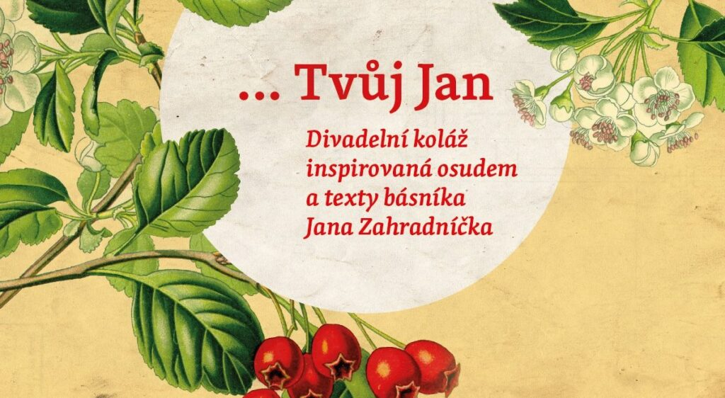Spolek Odjinud uvede v bývalé věznici na Cejlu představení inspirované životem básníka Jana Zahradníčka