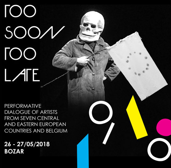 In-situ performativní výstava Too Soon Too Late připomene sto let od roku 1918