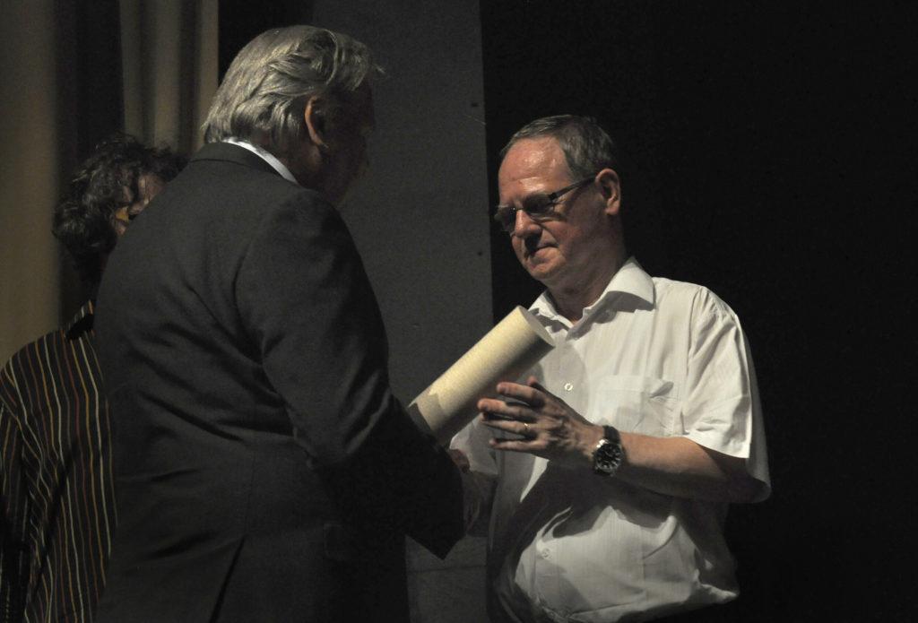 Cena Ministerstva kultury za dětské umělecké aktivity Jaroslavu Provazníkovi