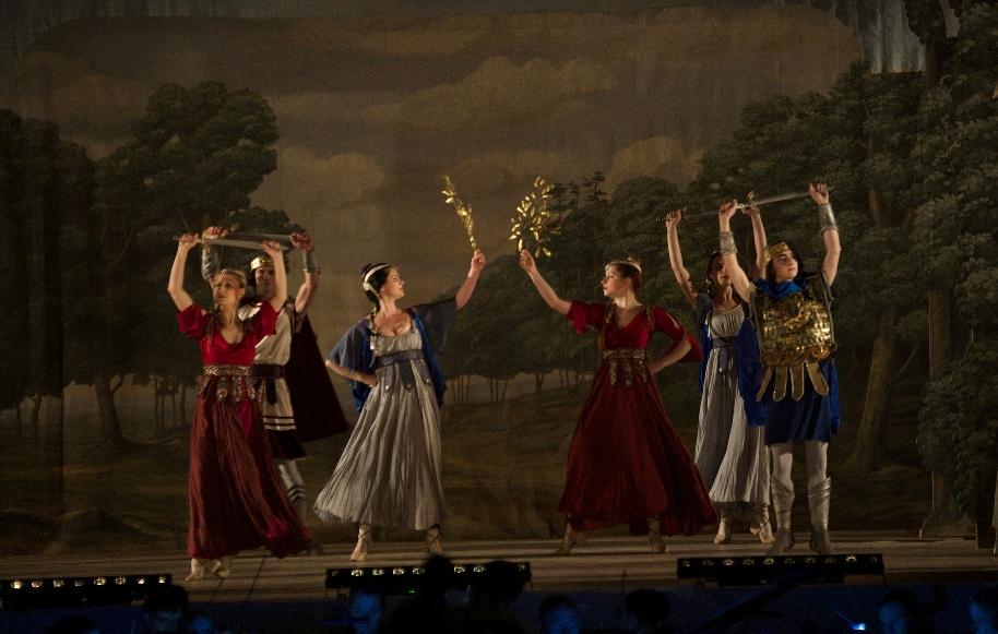 Orchestr Musica Florea na zájezdu v Polsku