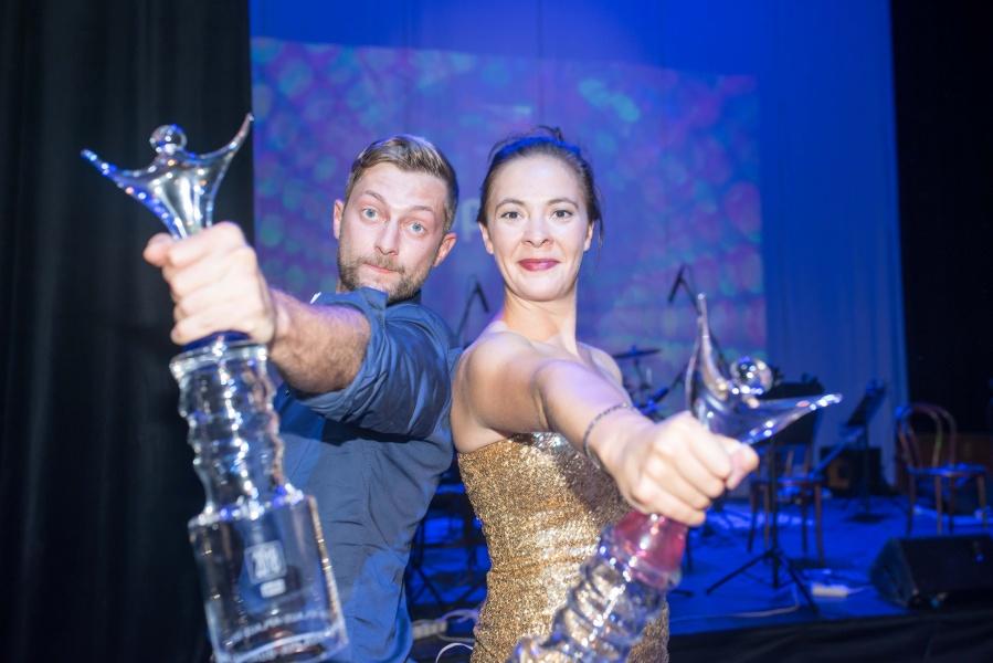 Nejoblíbenějšími herci v Městském divadle Zlín jsou Marie Vančurová a Marek Příkazký