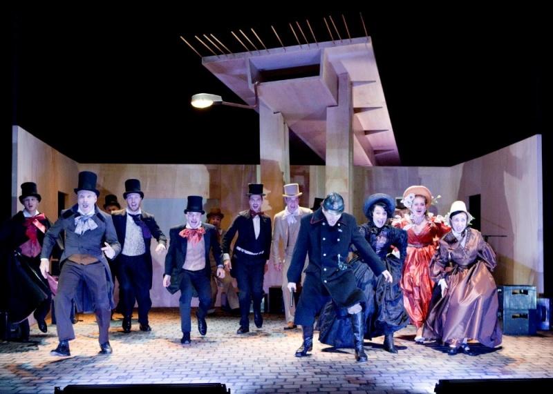 Slovácké divadlo připravuje premiéru inscenace Fidlovačka