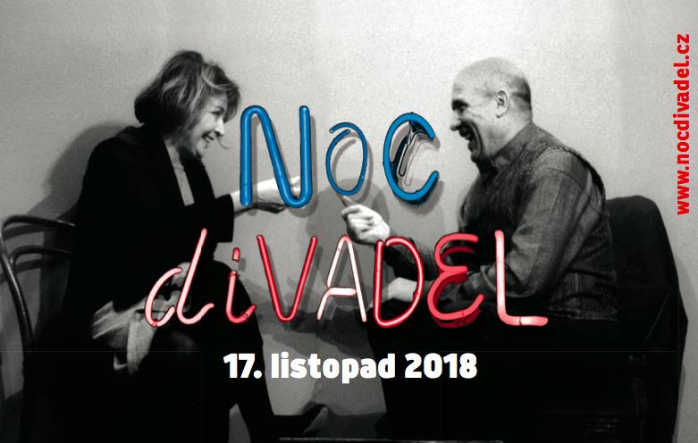 Šestý ročník Noci divadel propojí divadla a soubory z České i Slovenské republiky
