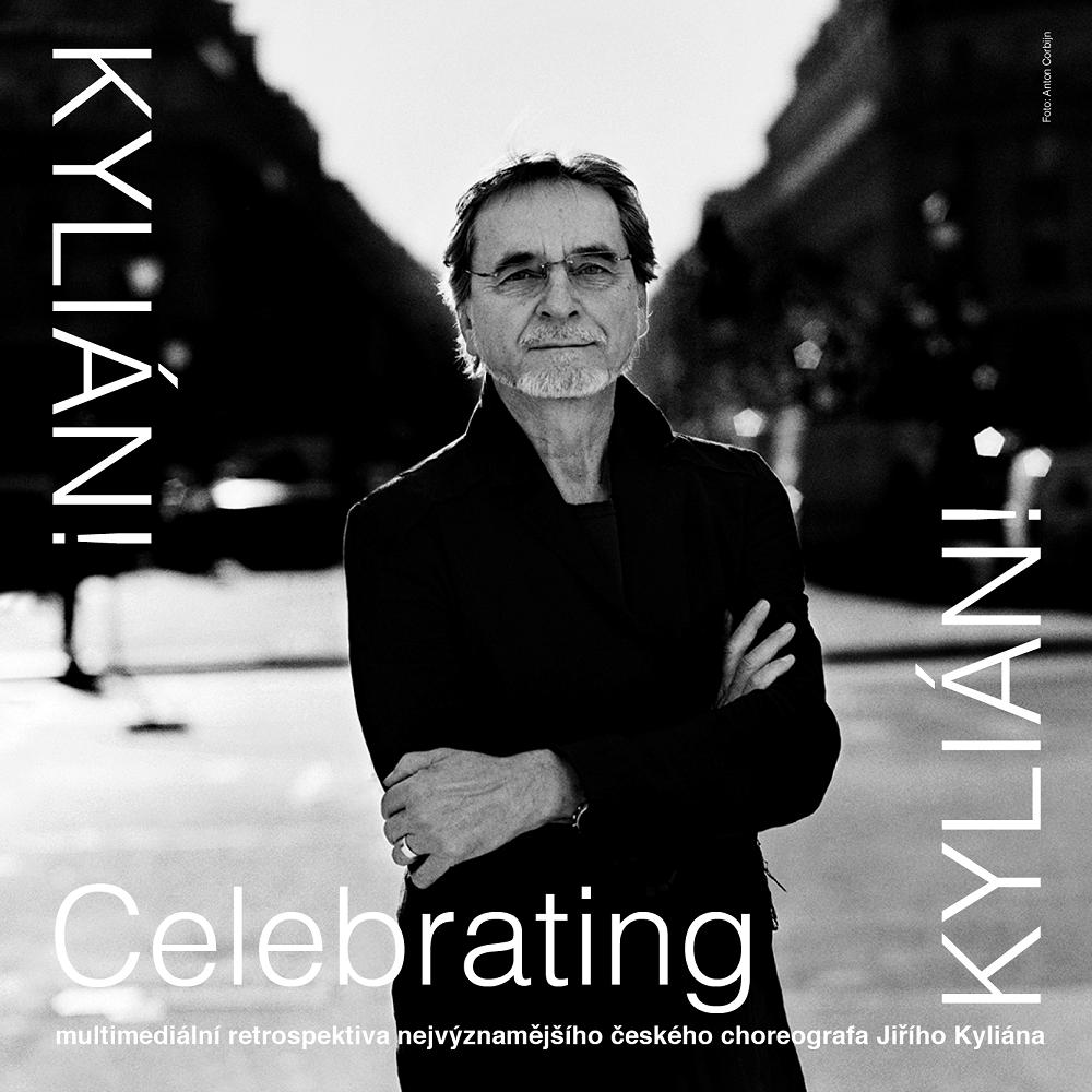 Pozvánka na multimediální výstavu Celebrating Kylián!
