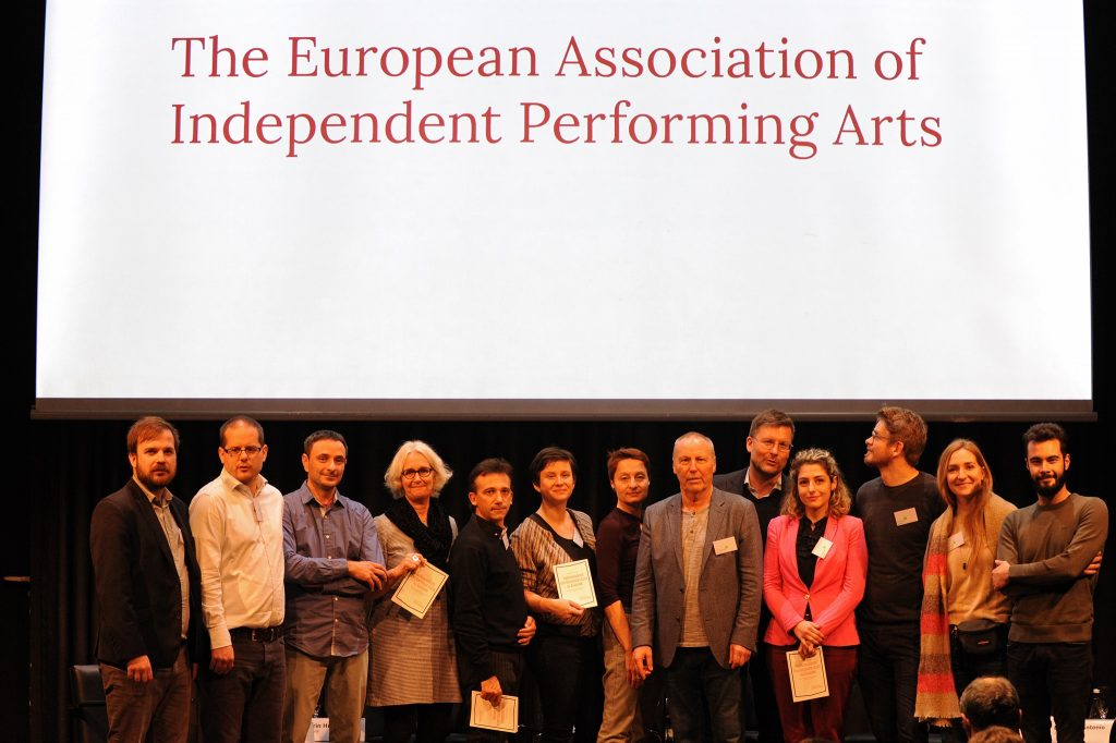 Asociace nezávislých divadel ČR (AND ČR) se stala jedním ze zakládajících členů European Association of Independent Performing Arts (EAIPA)