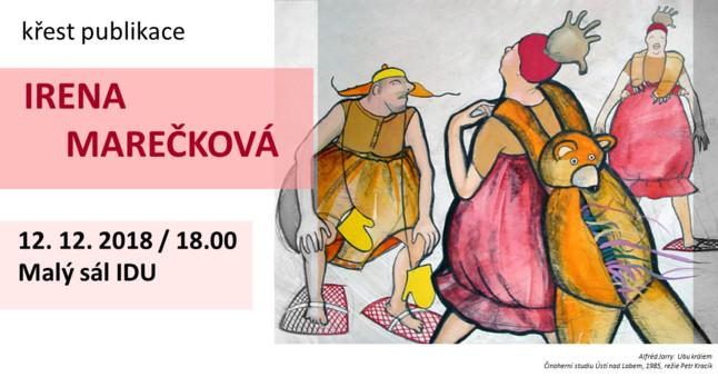 Křest knihy Irena Marečková