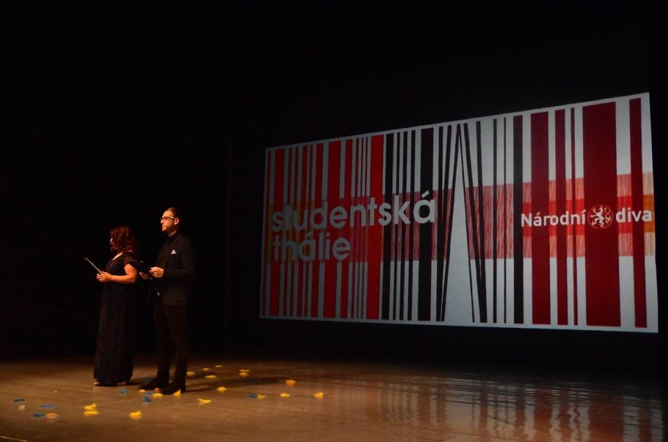 Na Nové scéně Národníhodivadlapřevzali ceny vítězové Studentské Thálie