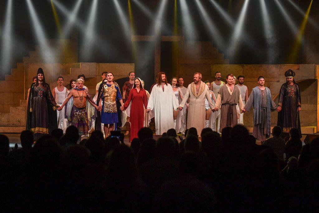 Městské divadlo Brno uvedlo pětkrát rockovou operu Jesus Christ Superstar na ostrově Tenerife