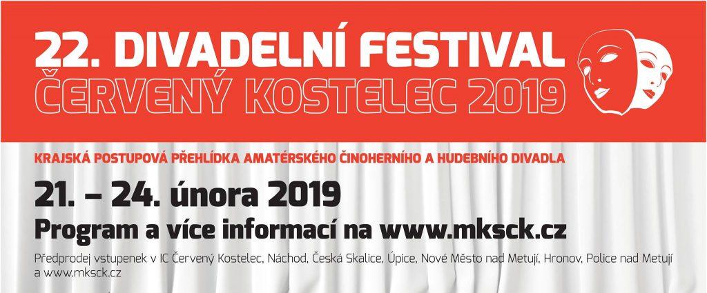 Divadelní festival Červený Kostelec 2019