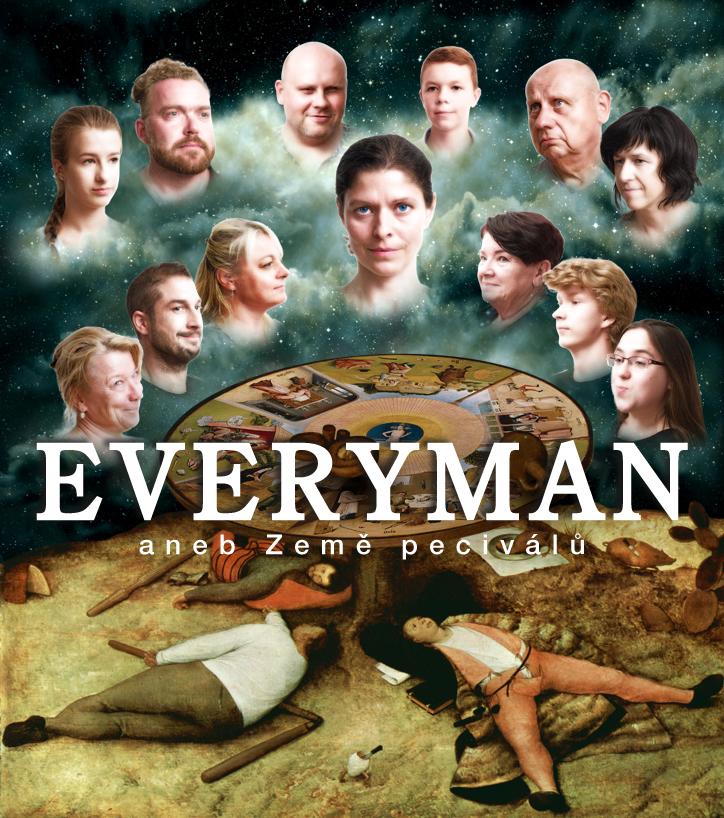 Divadelní projekt Everyman aneb Země peciválů spojuje dva divadelní texty