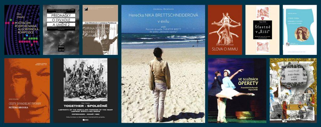 Nové knihy vydané Nakladatelstvím JAMU