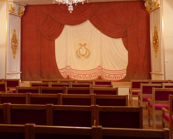 Pozvánka na přednášku: Rekonstrukce zámeckého divadla v Nových Hradech