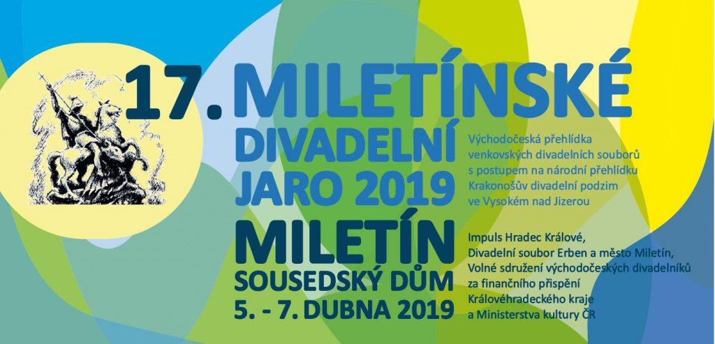 Krajská přehlídka venkovských divadelních souborů Miletínské divadelní jaro