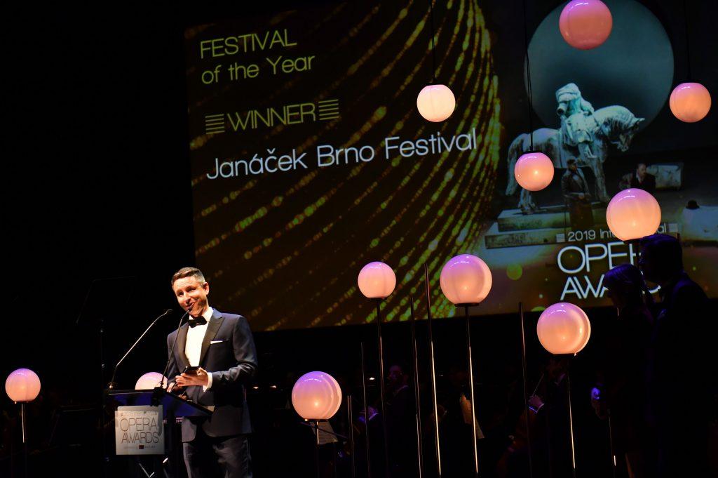Festival Janáček Brno se stal vítězem prestižní The International Opera Awards