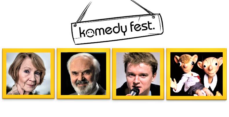 Komedy fest 2019 ocení Kolářovou, Svěráka, Kolečka i Spejbla a Hurvínka