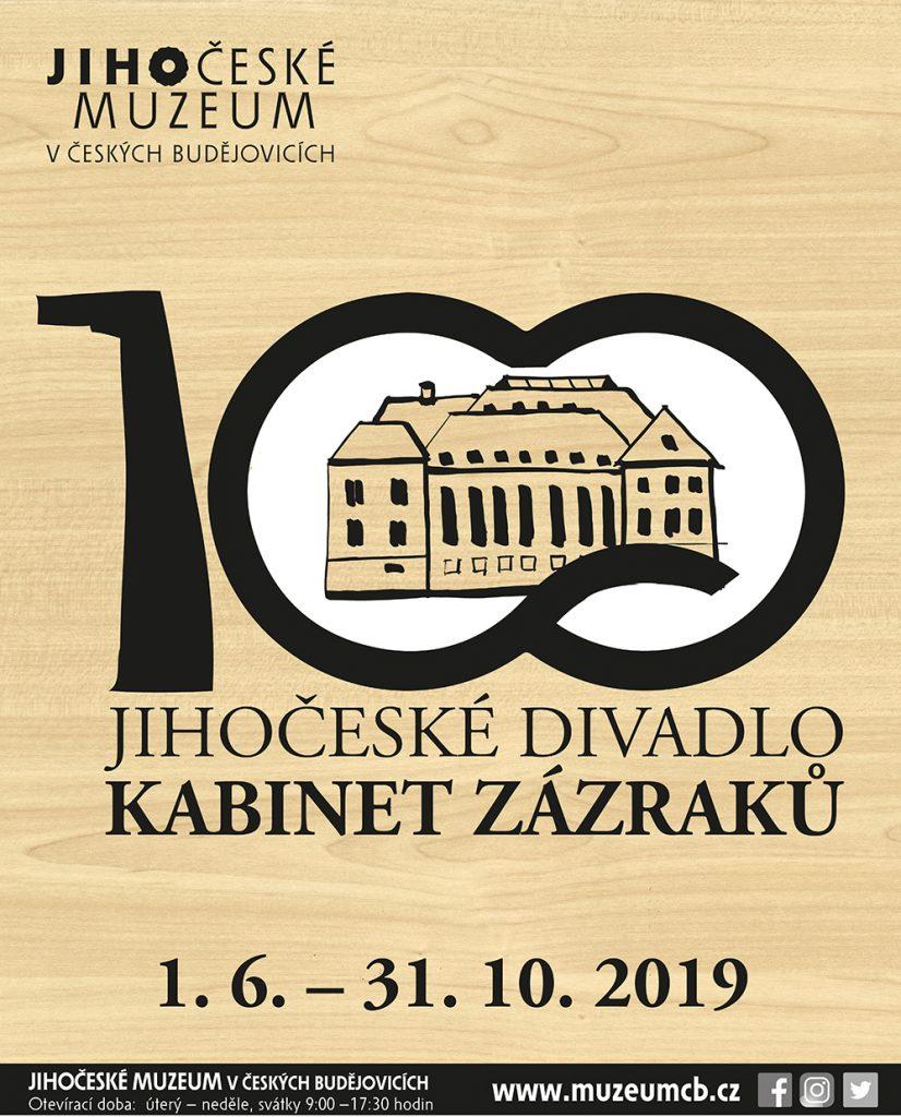Pozvánka na výstavu: Kabinet zázraků – 100 let Jihočeského divadla