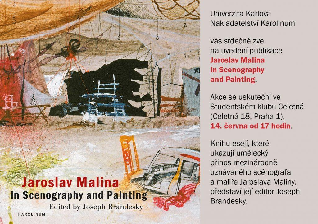 Vyšla publikace Jaroslav Malina in Scenography and Painting