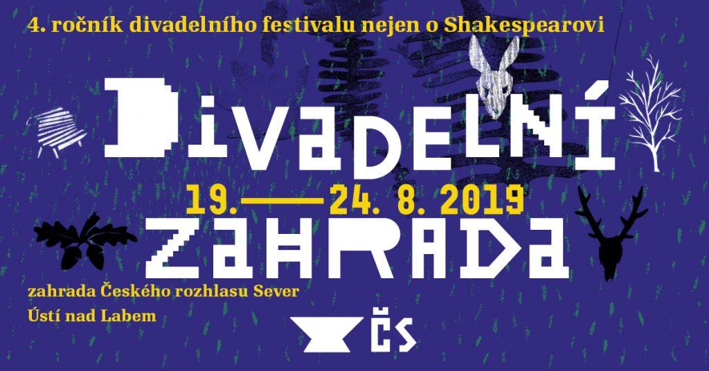 Divadelní zahrada 2019 v Ústí nad Labem začíná již příští týden