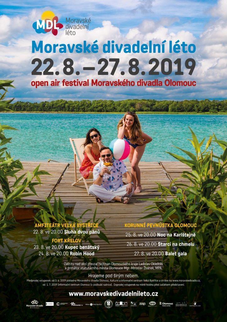 Moravské divadelní léto nabídne komedie, muzikály i balet