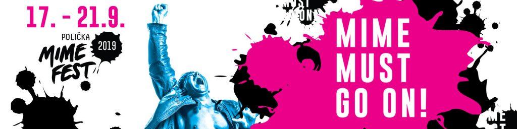 MIME FEST 2019 – mezinárodní festival pantomimy vPoličce