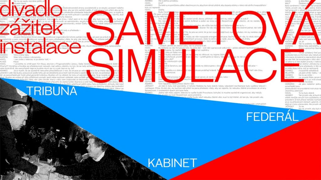 Roli divadelníkůpři sametové revoluci přibližuje výstava na piazzettě Národníhodivadla