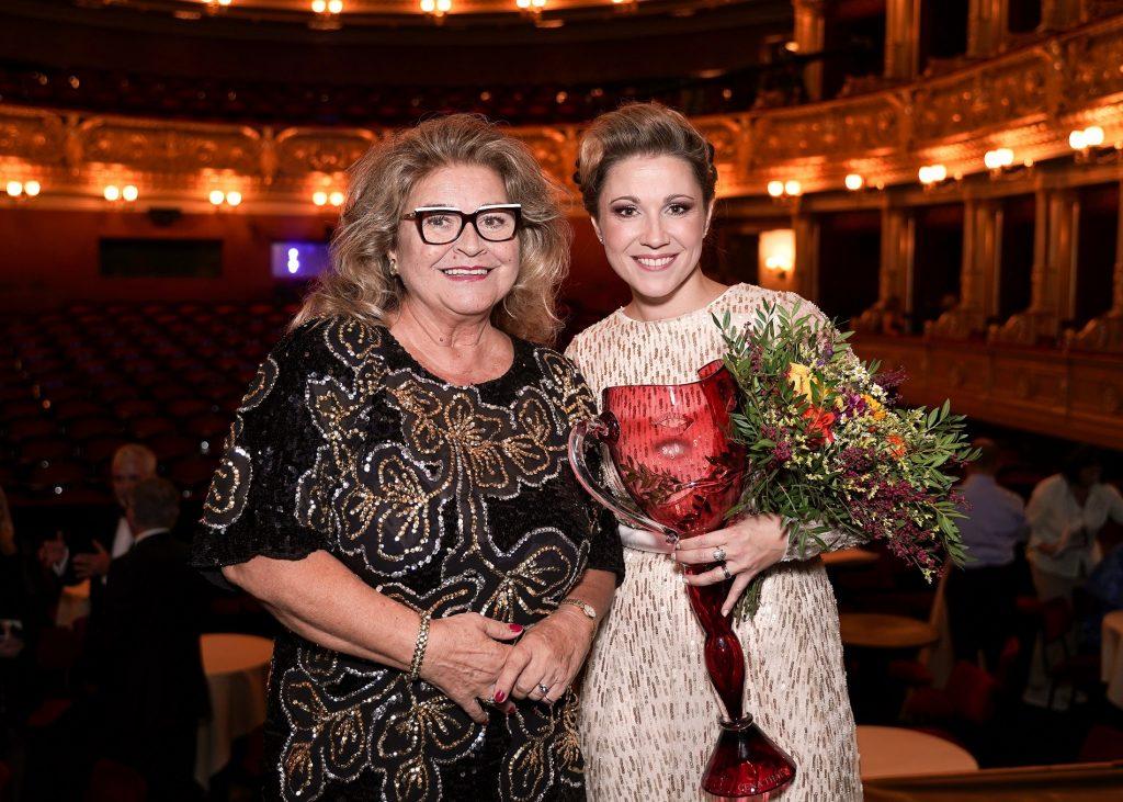 V Národním divadle byly předány Ceny Thálie za mimořádné umělecké a jevištní výkony