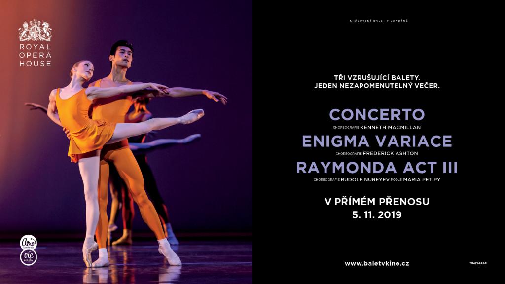 Sezóna baletu v kině začíná poctou legendárním choreografům