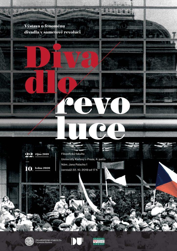 Pozvánka na zahájenívýstavy a cyklus besed Divadlo revoluce