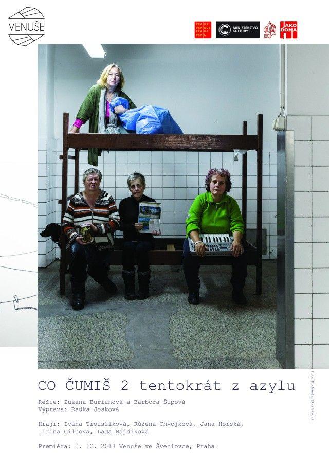 Benefiční večer ve Venuši ve Švehlovce pro bezdomovecké divadlo CO ČUMÍŠ
