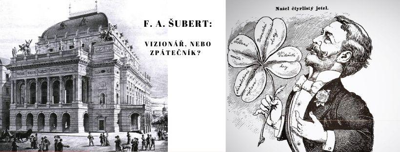 Pozvánka na přednášku Divadelní ředitel F. A. Šubert: vizionář, nebo zpátečník?