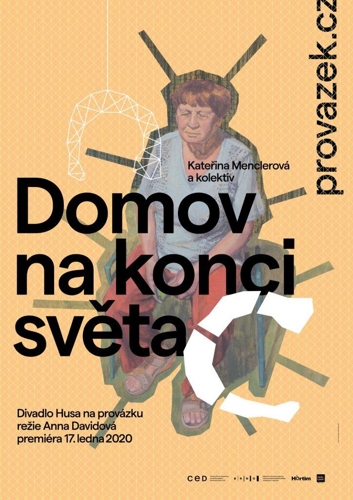 Premiéra inscenace Domov na konci světa v Divadle Husa na provázku