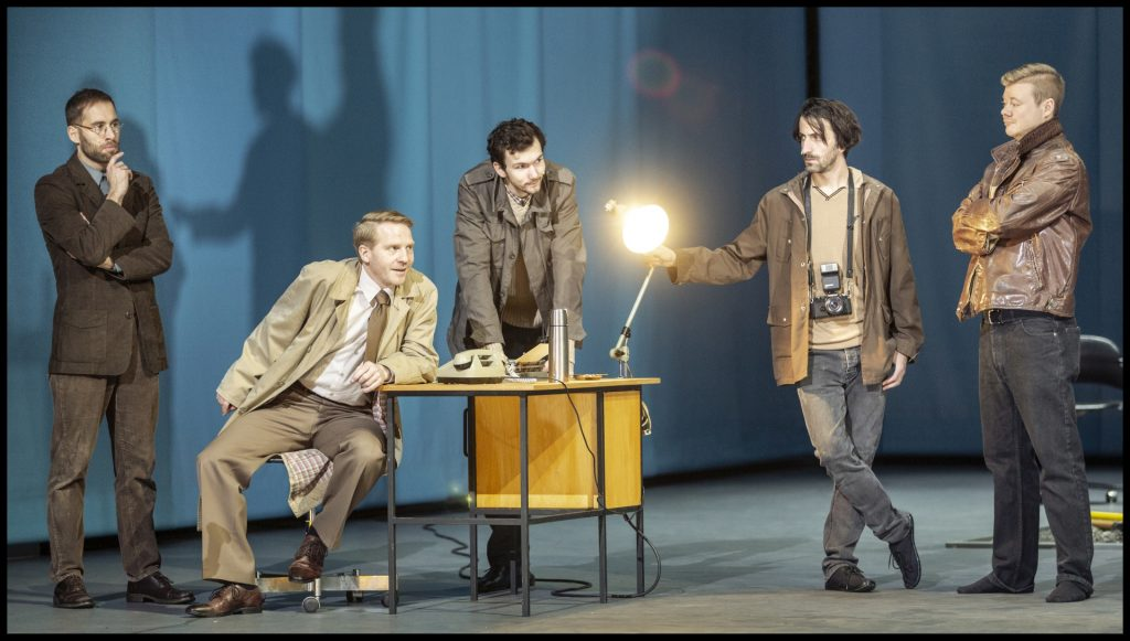 Poslední letošní premiérou Činohry Národního divadla je Král Oidipús